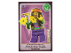 Gear No: ctw110FR  Name: Create the World Trading Card #110 Le Hippie (French)