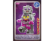 Gear No: ctw118  Name: Create the World Trading Card #118 Lady Robot