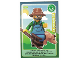 Gear No: ctw121FR  Name: Create the World Trading Card #121 Le Fermier (French)