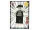 Gear No: ctw122FR  Name: Create the World Trading Card #122 Le Mime (French)