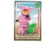 Gear No: ctw133FR  Name: Create the World Trading Card #133 Le Garçon Déguisé En Cochon (French)