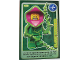 Gear No: ctw134  Name: Create the World Trading Card #134 Plant Monster