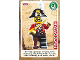 Gear No: ctw136  Name: Create the World Trading Card #136 Pirate Captain