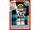 Gear No: ctwII021  Name: Create the World Incredible Inventions Trading Card #021 Astronaut