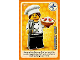 Gear No: ctwII027  Name: Create the World Incredible Inventions Trading Card #027 Gourmet Chef