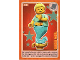 Gear No: ctwII048  Name: Create the World Incredible Inventions Trading Card #048 Genie Girl