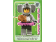 Gear No: ctwII051  Name: Create the World Incredible Inventions Trading Card #051 Elephant Costume Girl