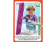 Gear No: ctwII060  Name: Create the World Incredible Inventions Trading Card #060 Downhill Skier