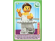 Gear No: ctwII064  Name: Create the World Incredible Inventions Trading Card #064 Ballerina