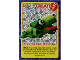 Gear No: ctwII072  Name: Create the World Incredible Inventions Trading Card #072 Create: Rainforest Frog