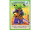 Gear No: ctwII090  Name: Create the World Incredible Inventions Trading Card #090 Space Alien