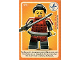 Gear No: ctwII096  Name: Create the World Incredible Inventions Trading Card #096 Samurai
