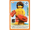 Gear No: ctwII098  Name: Create the World Incredible Inventions Trading Card #098 Lifeguard