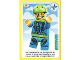 Gear No: ctwII101  Name: Create the World Incredible Inventions Trading Card #101 Skydiver