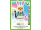 Gear No: ctwII103  Name: Create the World Incredible Inventions Trading Card #103 Easter Bunny Suit Guy