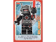 Gear No: ctwII110  Name: Create the World Incredible Inventions Trading Card #110 Evil Robot
