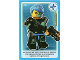 Gear No: ctwII115  Name: Create the World Incredible Inventions Trading Card #115 Cyborg