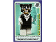 Gear No: ctwII121  Name: Create the World Incredible Inventions Trading Card #121 Cat Costume Girl