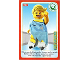 Gear No: ctwII124  Name: Create the World Incredible Inventions Trading Card #124 Ice Skater