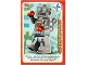 Gear No: ctwII129  Name: Create the World Incredible Inventions Trading Card #129 Clockwork Robot
