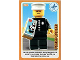 Gear No: ctwII134  Name: Create the World Incredible Inventions Trading Card #134 Police Officer
