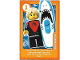 Gear No: ctwLA004  Name: Create the World Living Amazingly Trading Card #004 Pro Surfer