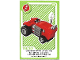Gear No: ctwLA009  Name: Create the World Living Amazingly Trading Card #009 Tractor