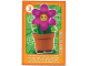 Gear No: ctwLA017  Name: Create the World Living Amazingly Trading Card #017 Flower Pot Girl