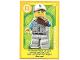 Gear No: ctwLA019  Name: Create the World Living Amazingly Trading Card #019 Baseball Fielder