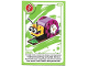 Gear No: ctwLA022  Name: Create the World Living Amazingly Trading Card #022 Snail