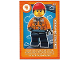 Gear No: ctwLA024  Name: Create the World Living Amazingly Trading Card #024 Construction Worker
