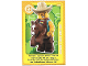 Gear No: ctwLA025  Name: Create the World Living Amazingly Trading Card #025 Cowboy Costume Guy