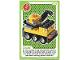 Gear No: ctwLA029  Name: Create the World Living Amazingly Trading Card #029 Crane