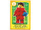 Gear No: ctwLA032  Name: Create the World Living Amazingly Trading Card #032 Brick Suit Guy