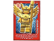Gear No: ctwLA044  Name: Create the World Living Amazingly Trading Card #044 Flying Warrior