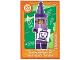 Gear No: ctwLA049  Name: Create the World Living Amazingly Trading Card #049 Crayon Girl