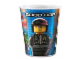 Gear No: cuptlm05  Name: Food - Cup / Mug, The LEGO Movie Good Cop/Bad Cop Pattern