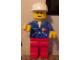 Gear No: displayfig04  Name: Display Figure 7in x 11in x 19in (blue jacket, red pants, construction helmet)
