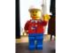 Gear No: displayfig07  Name: Display Figure 7in x 11in x 19in (red jacket, blue pants, construction helmet)