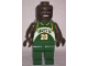 Gear No: displayfig09  Name: Display Figure 7in x 11in x 19in, Dark Green Jersey, Dark Green Pants (Gary Payton)