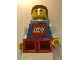Gear No: displayfig14  Name: Display Figure 7in x 11in x 19in (blue jacket with Lego Logo, red pants, Brown Hair)