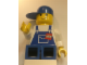 Gear No: displayfig15  Name: Display Figure 7in x 11in x 19in (blue overalls, blue pants, blue cap)