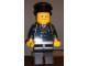 Gear No: displayfig20  Name: Display Figure 7in x 11in x 19in (black jacket, black pants, black hat, Airport)