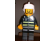 Gear No: displayfig21  Name: Display Figure 7in x 11in x 19in (black jacket, black pants, white hat, Fire)