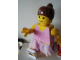 Gear No: displayfig26  Name: Display Figure 7in x 11in x 19in (Female - pink skirt, brown ponytail)