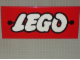 Gear No: displaysign003  Name: Display Sign Large LEGO Logo - Original 1956 version