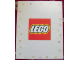 Gear No: displaysign004  Name: Display Sign LEGO Logo Paperboard
