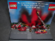 Gear No: displaysign012  Name: Display Sign Countertop, Fire Popup, Introducing Minifigures