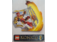 Gear No: displaysign070  Name: Display Sign Hanging, Bionicle Tahu Master of Fire (Cardboard)