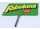 Gear No: displaysign074  Name: Display Sign Large, Fabuland (Lego and Fabuland Logos)